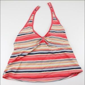 Motherhood Maternity Tankini Swimsuit Top Size M